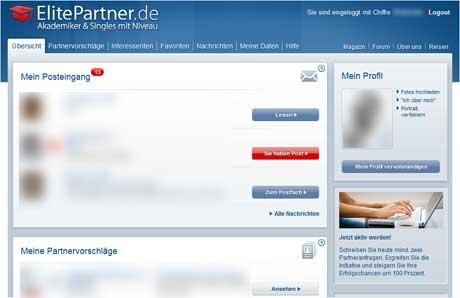 ElitePartner und die Nutzerfreundlichkeit