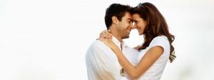 Paar hat sich über Partnervermittlung kennengelernt