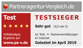 Partneragentur Vergleich Testsieger Logo